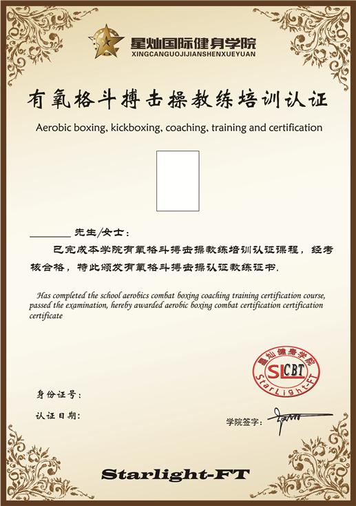 MMA综合格斗私教课程认证
