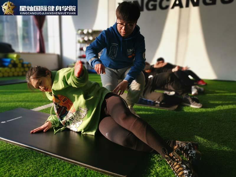 太原学健身教练培训哪好点