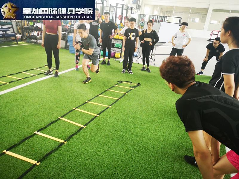 蚌埠健身教练培训都学什么?