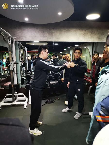 株洲哪里健身教练培训出名?